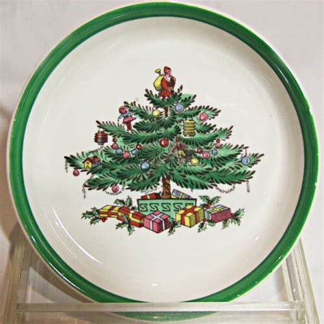 spode christmas tree coaster 4 quot diameter