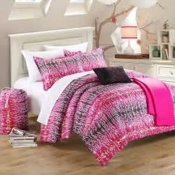 chic home barbie pink and black 9 piece comforter set ebay
