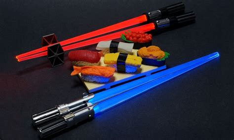 light wars wars lightsaber chopsticks groupon goods