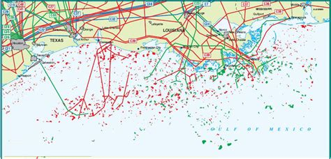 map of pipelines in usa united states gulf of mexico pipelines map crude