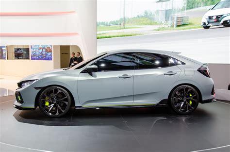 honda covic hatchback honda civic hatchback prototype shows promise in geneva