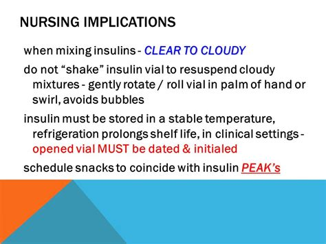 how can insulin be stored at room temperature insulin hypoglycemics ppt