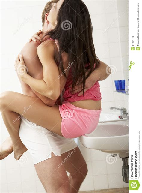 making love in a bathtub romantic couple in bathroom stock photo image 54974788