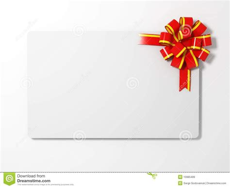 Gift Card Images Stock - blank gift card royalty free stock images image 10985499