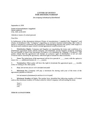 Letter Of Intent Distribution Exle Salary Increase Letter Pdf Cover Letter Templates