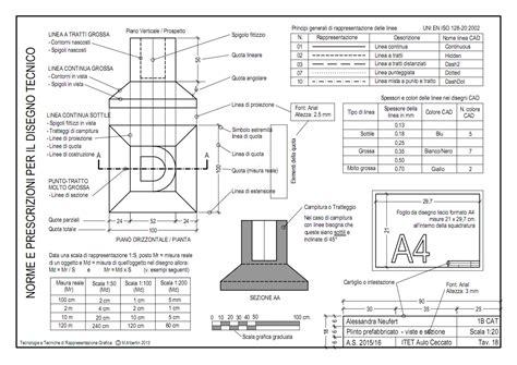 tavole disegno tecnico disegno 2
