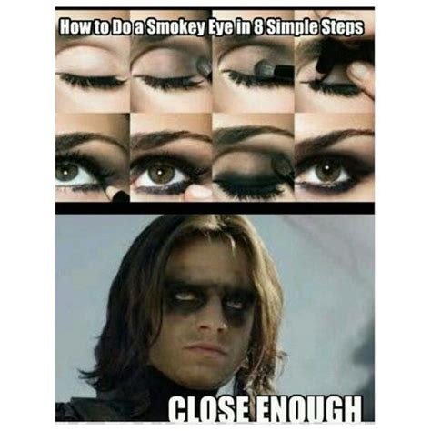 Funny Beauty Memes - smokey eye funny pictures quotes memes jokes