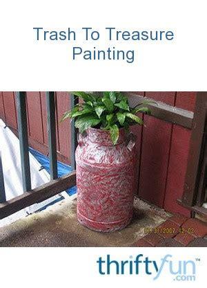 trash  treasure painting thriftyfun