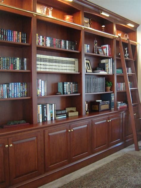 Elegant Custom Bookshelves Design By Odhner Odhner Fine Custom Bookshelves Ideas