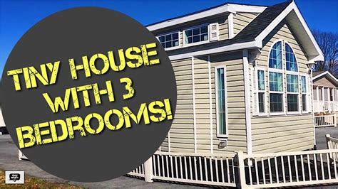 3 bedroom tiny house tiny house with 3 bedrooms youtube