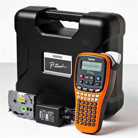 Resmi Label Printer Pt E100vp Label Maker Electrician Mode p touch pt e100 label printer pt e100