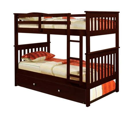 bunk beds trundle 3 best full over full bunk beds with reviews home best