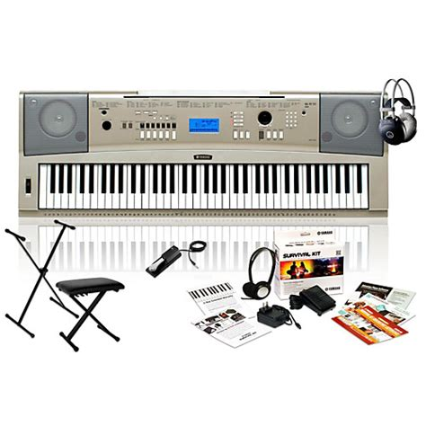 Keyboard Yamaha Ypg 235 Yamaha Ypg 235 Portable Keyboard Package Guitar Center