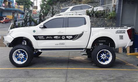 navara nissan modified this modified nissan navara will you want a truck
