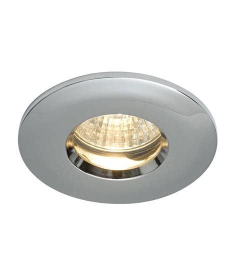sealed bathroom downlights two piece ip65 mains bathroom downlight in three finishes