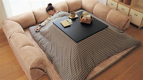 kotatsu bed kotatsu heated table dudeiwantthat