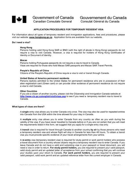 letter invitation canadian visa sample templates
