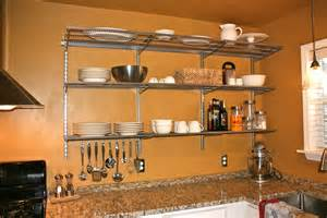 kitchen wall shelving wall mounted shelves for kitchen interior exterior
