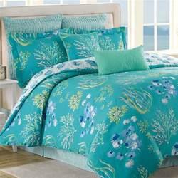 Turquoise Bedspread Beachcomber Turquoise 8 Pc Comforter Bed Set