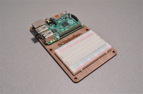Wood Plate Wp 022 3 walnut mounting plate for raspberry pi bc robotics
