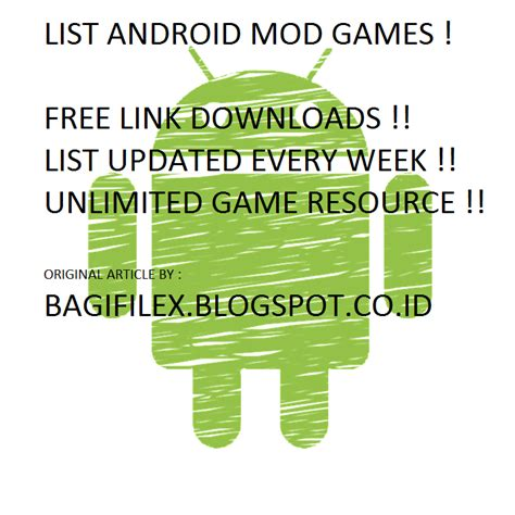 Kumpulan Game Mod Free Download | kumpulan game android mod terseru free download bagi