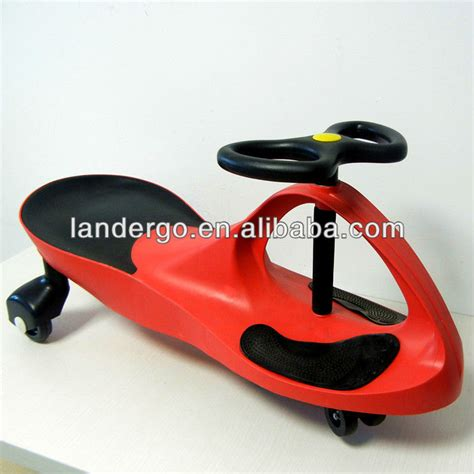 swing car assembly hot kids ride on toy car swing wiggle scooter with