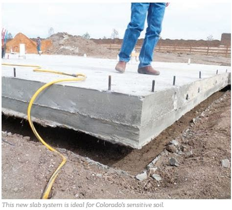 Floating Floor Concrete Slab by Article