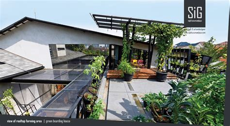 desain rumah dengan rooftop 18 jenis desain taman atap rooftop garden arsitag