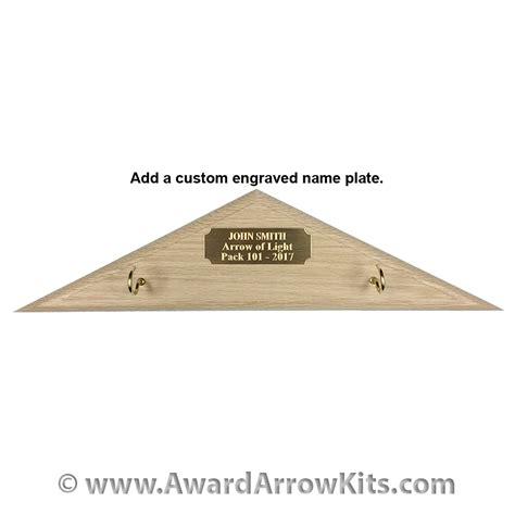 arrow of light arrow kits plaque for arrow of light award low cost plaque to hang