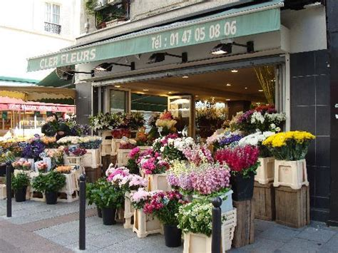 flower shop in paris paris france they display all flower shop on rue cler picture of hotel beaugency
