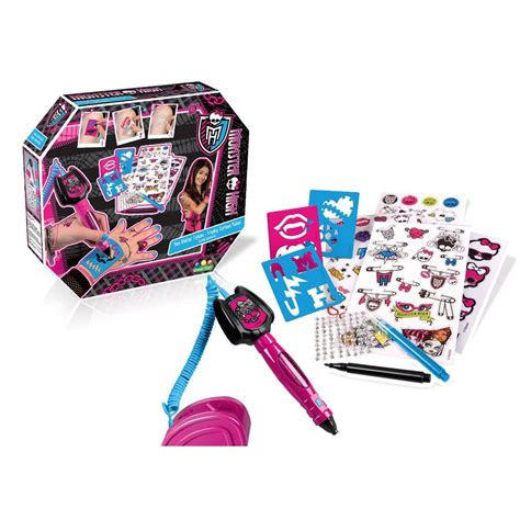 monster high tattoos high mhc011 children temporary