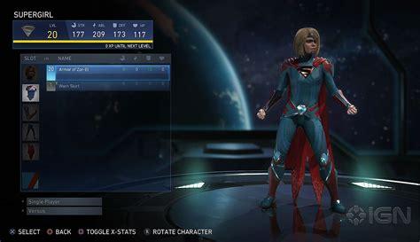 Best Item Kaos Superman New Power Zero X Store 1 injustice 2 e3 2016 supergirl gear menu 02 injustice