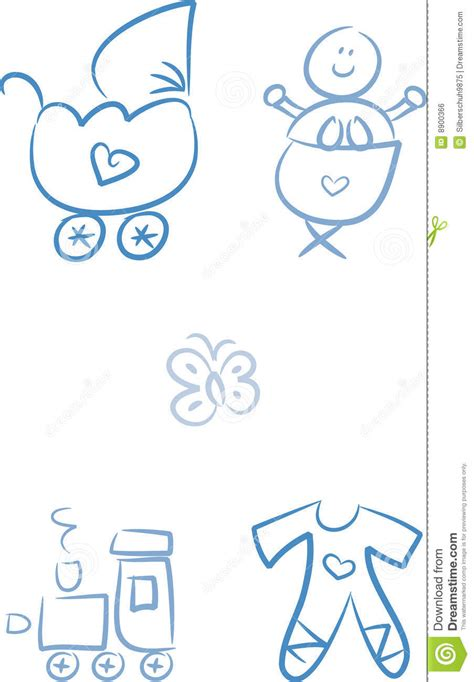 doodle baby baby doodles baby boy royalty free stock image image