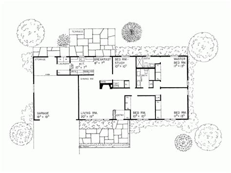 rectangle house plans house plan chp 24092 at coolhouseplanscom order this house