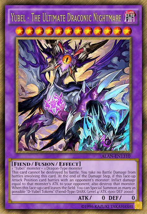 yu gi oh yubel deck yubel the ultimate draconic nightmare by alanmac95 on