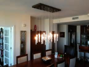 Contemporary Dining Room Chandelier by Twist Chandelier Contemporary Dining Room New York