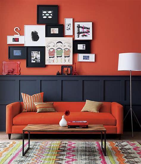 wohnideen jugendzimmer farbgestaltung rote wand 50 ideen mit wandfarbe rot archzine net