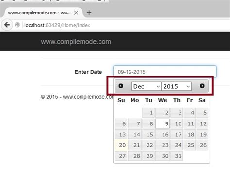 asp net mvc 4 jquery datepicker date format validation jquery ui datepicker in asp net mvc