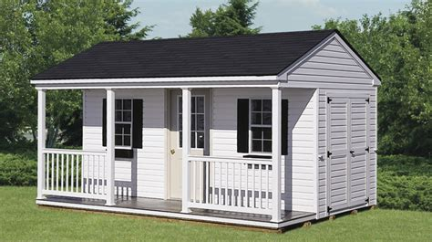 Sheds With Porches For Sale by Amish Shed Maryland New Jersey Storage Shed Builder