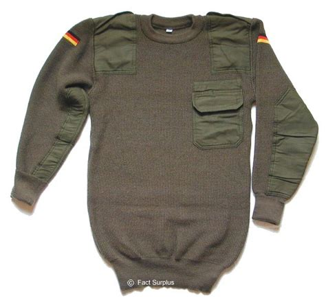 Sweater Loreng Gurun Sweater Army pullovers german army jumper pullover sweater