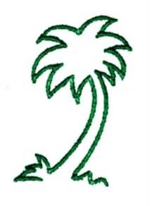 Palm Tree Outline by In And Out Palm Tree Outline Clipart Best