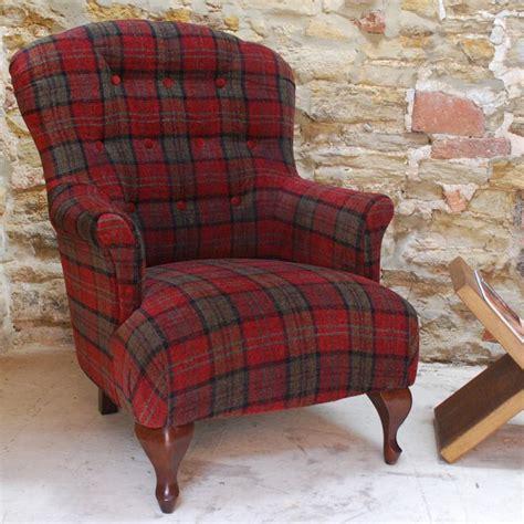 Tartan Armchairs Uk Tartan Armchair Highland Fabric Chairs Armchairs