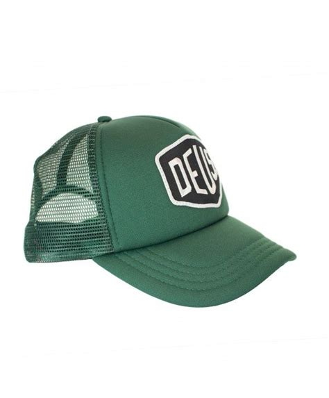 Topi Trucker Costum Dennizzy Clothing deus baylands trucker cap green deus ex machina deus ex cap d agde and green