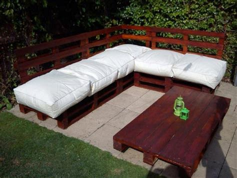 diy pallet outdoor sofa couch made out of wood pallets pallet wood projects