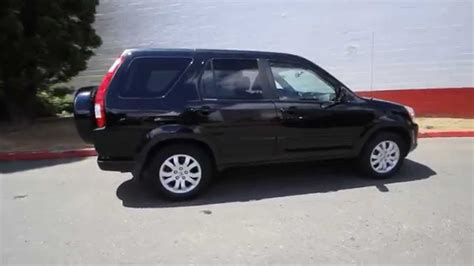 Honda Crv Black by 2006 Honda Cr V Se Ex L Black 6c021648 Redmond