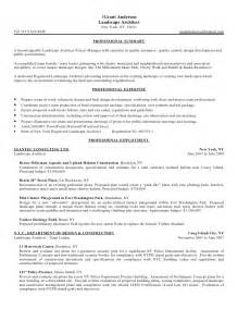 Resume Exle Summary by Gala Resume Summary