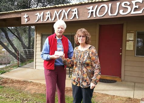 manna house soroptimist international of mariposa donate to local manna house