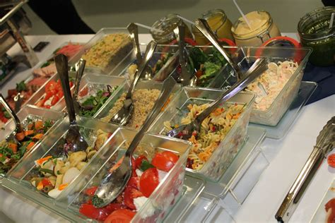 hot cold buffets party event catering party food