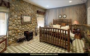 Cabin bedroom decorating ideas rustic style log cabin theme decorating