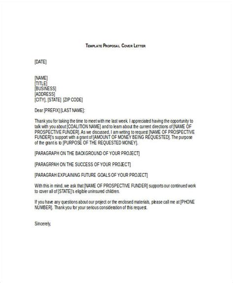 Nsf Grant Cover Letter grant template ms word with free cover letter best photos of sle grant letter of